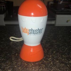 Baby Shusher portable sound machine.